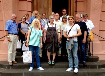 Besuchergruppe aus Ahrweiler