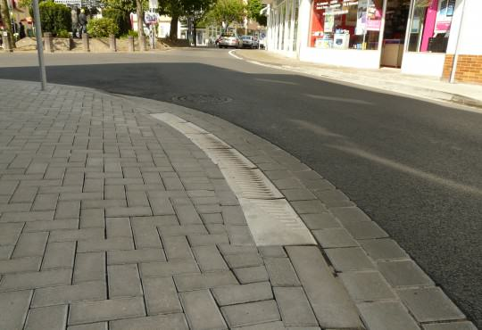 Abgesenkter Bürgersteig Remagen
