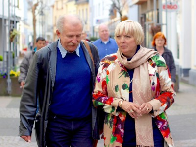 Claudia Roth und Frank Bliss