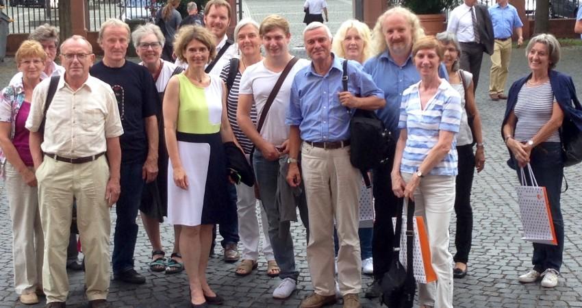 Besuchergruppe Ahrweiler