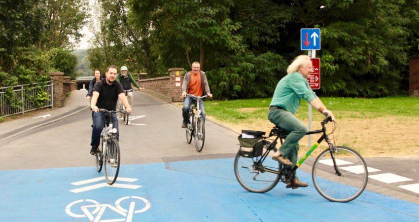 Fahrradstraße in Bad Neuenahr-Ahrweiler