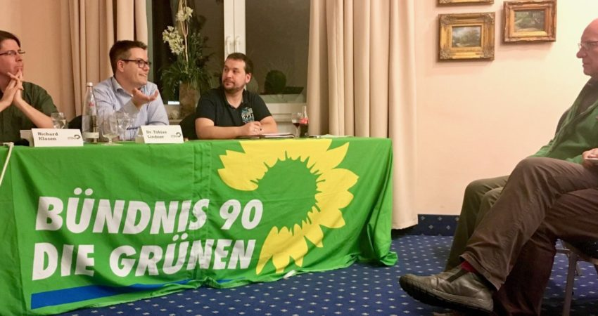 Tobias Lindner und Richard Klasen in Bad Neuenahr-Ahrweiler
