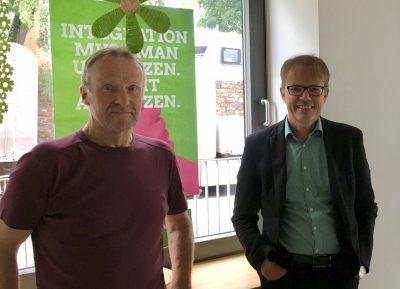 Andreas Hartenfels und Klaus Hahn in Sinzig