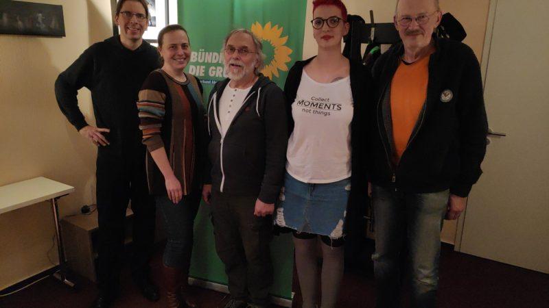 Kripper Grüne bei der Listenaufstellung Anfang 2019