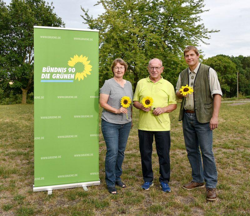 GRÜNE Fraktion VG Brohltal: v.l.n.r. Jutta Dietz, Armin Rau, Harald Scheuer