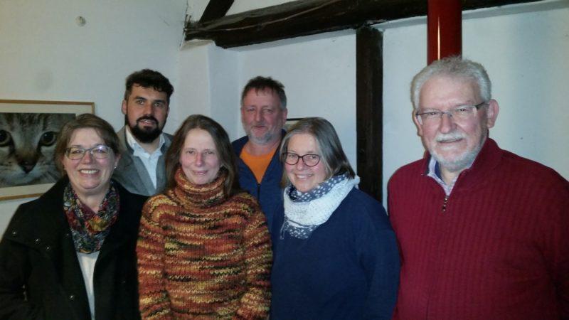 Claudia Hoffmann, Alexander von Boguszewski, Cordula Clausen, Matthias Heeb, Birgit Stupp und Manfred Brinkhoff