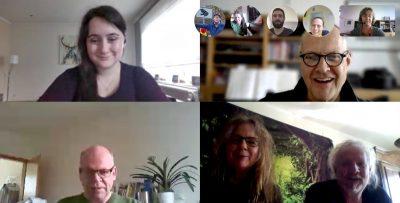 GRÜNE in der Videokonferenz