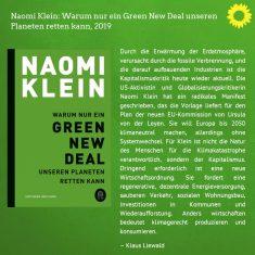 Sachbücher 1 (Warum nur ein Green New Deal unseren Planeten retten kann)