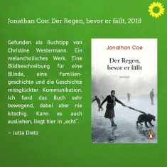 Romane 4 (Der Regen, bevor er fällt, 2018)