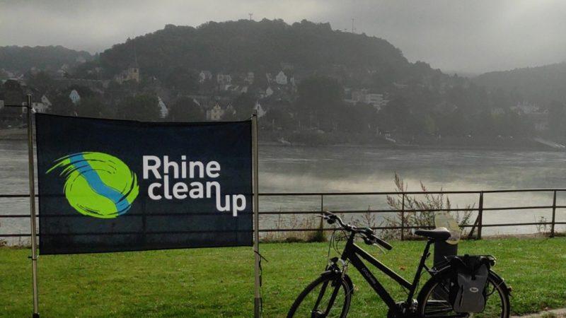 Startpunkt des RhineCleanup 2019 in Kripp