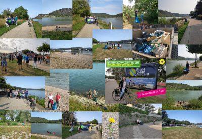 Viele kleine Gruppen beteiligten sich am RhineCleanup 2020 (Fotos: Stefani Jürries)