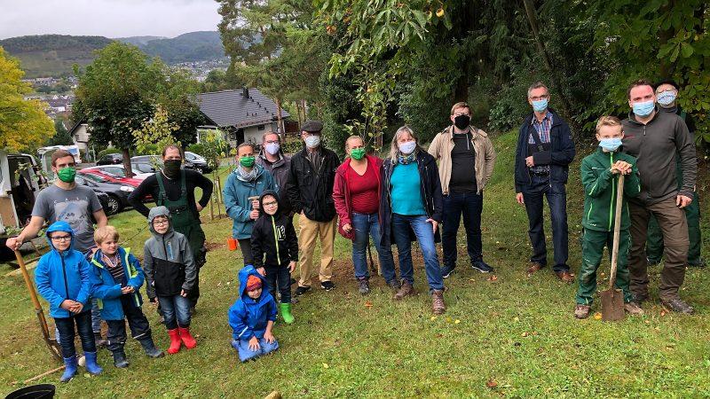 Das gesamte Team vom Einheitsbuddeln 2020 in Bad Breisig