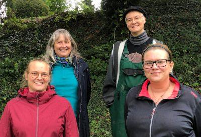 Vorstand Jasmin Vorstand (v.l.n.r.): Jasmin Lemler, Jutta Bruns, Sabrina Kraus, Anna Belz