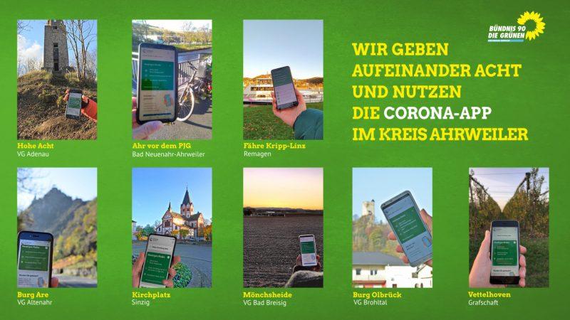 Wir geben aufeinander acht und nutzen die Corona-App.
