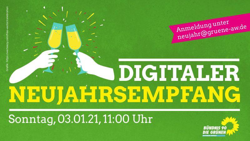 Einladung zum digitalen Neujahrsempfang