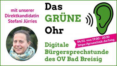 """Ankündigung """"Das GRÜNE Ohr Bad Breisig"""""""