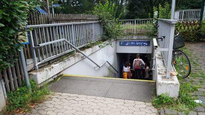Zugang zum Bf Heimersheim