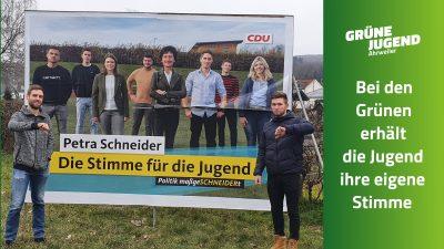 Die Grüne Jugend hat ihre eigene Stimme
