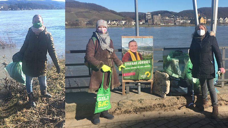 Hochwasser-Clean-up in Bad Breisig