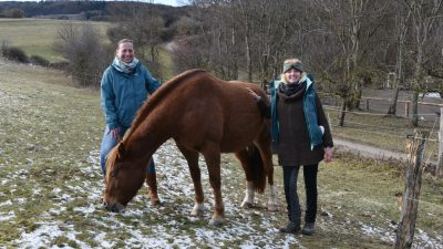 Stefani Jürries (links) und Leni Weber