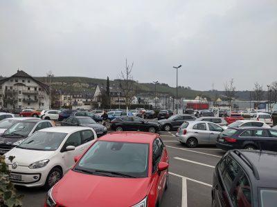 Parkplätze für PKW – Nicht ausreichend im Zeitraum der Landesgartenschau