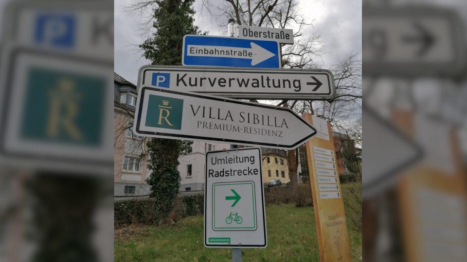 Achtung Radfahrer - Der Einmündungsbereich Willibrordusstraße / Oberstraße