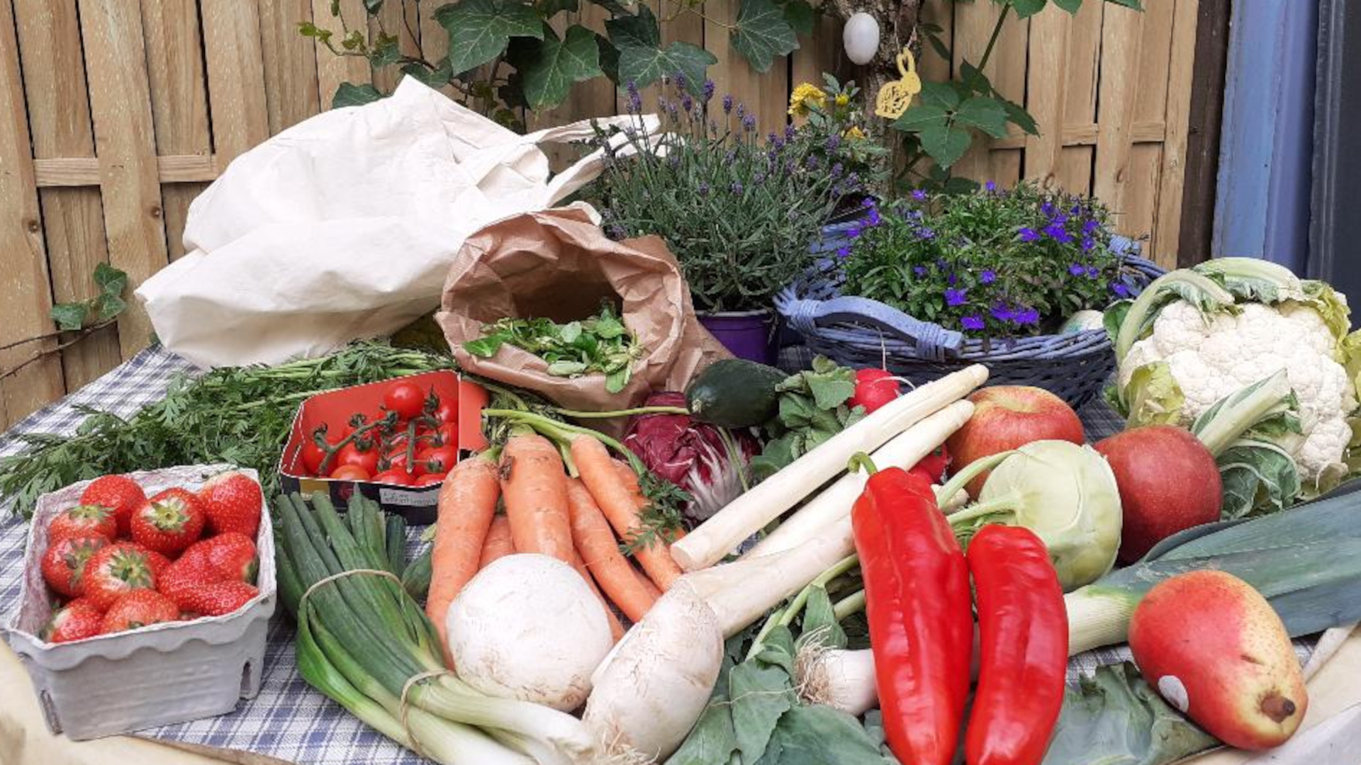 Obst und Gemüse aus der Region